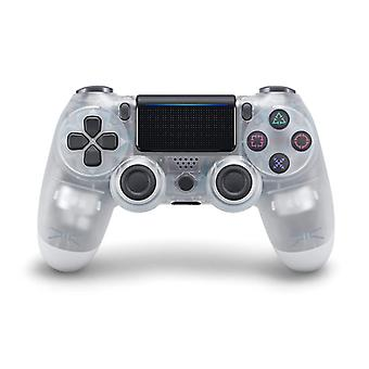 DoubleShock Bluetooth Wireless Controller for PS4, Crystal