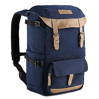 Camera backpack waterproof with rain cover,k&f concept large capacity rucksack dslr travel bag for c