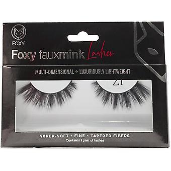 Foxy Faux Mink Eyelashes Model  Z1