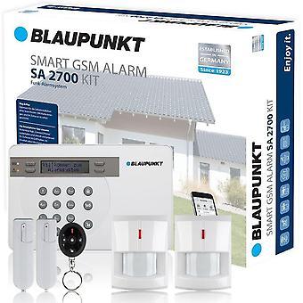 Blaupunkt Burglar Alarm SA2700 Plus - Wireless GSM Home & Office Security System Kit
