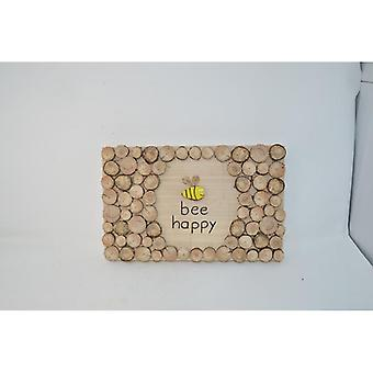 """Wood painting wood decoration """"Love"""" typeface picture mural of wood wood decoration handmade made in Austria"""