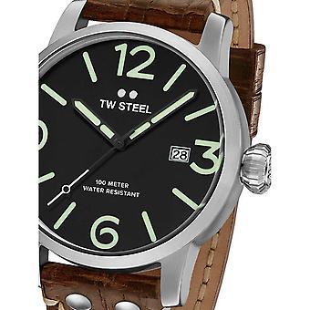 Herrenuhr Tw-Steel MS12, Quarz, 48mm, 10ATM