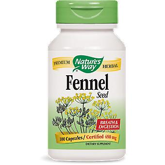Nature's Way Fennel seed 100 Capsules