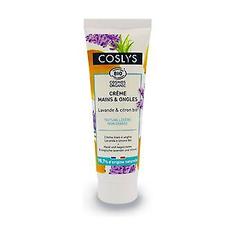 Hand and nail cream with lavender and lemon 50 ml of cream