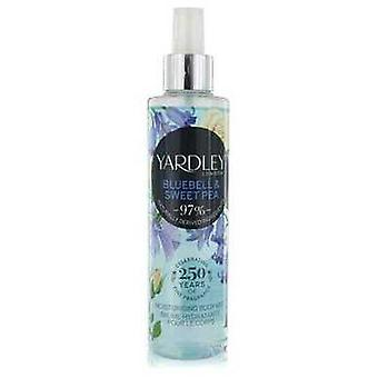 Yardley Bluebell & Sweet Pea By Yardley London Moisturizing Body Mist 6.8 Oz (women) V728-552637