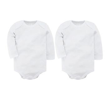 Детские Боди Хлопок Новорожденный Длинный рукав Установить Тело Bebes Baby