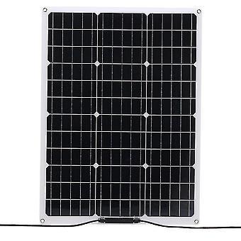 Flexible monocrystalline solar panel 18v 20w