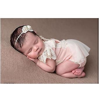 Newborn Photography Props Accessories, Hat Set Baby  Fotografie Studio Romper