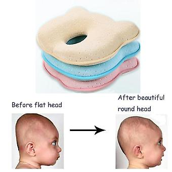 Newborn Baby Room Soft Infant Pillow Prevent Flat Head Memory Foam Cushion