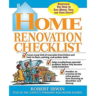 Home Renovation Checklist - Everything You Need to Know to Save Money
