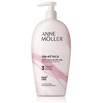 Anne Möller Tri-Attack Anti-Celulite Gel 400 ml