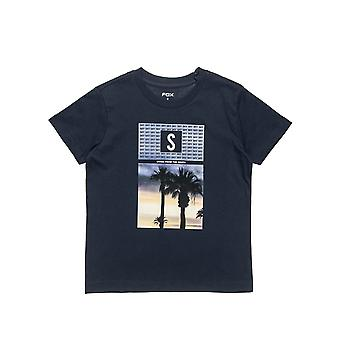 Alouette Boys' T-Shirt With Palm Trees Print