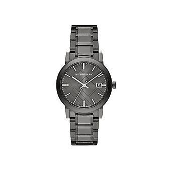 Burberry BU9007 אפור חיוג אפור יון מצופה גברים&s שעון