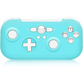 Controller Switch 6-Axis Sensor Double Shock Wireless Bluetooth Pro Wireless Switch Controller for Nintendo Switch Compatible with Switch, Switch Lite, PS3, Steam(Blue)