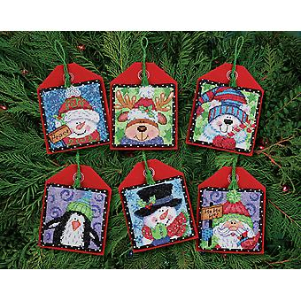 Dimensions Counted Cross Stitch: Ornament: Xmas Pals: 6