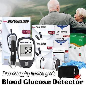 50 Test Strips and 50 Lancets Blood Glucose Meter
