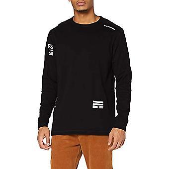 G-STAR RAW Multi Logo+ Korpaz T-Shirt, Dk Svart C336-6484, M Herrar