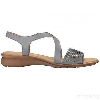 Naturalizer enebro Womens Open Toe Casual sandalias de tiras