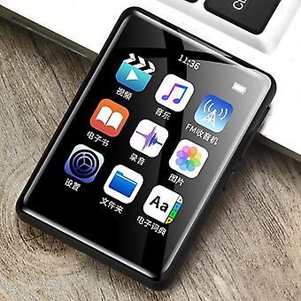 Bluetooth Music Player Trykk Mp3 Walkman Oppladbar Hifi For Studenter Musikk