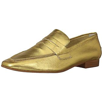 LFL by Lust for Life Womens Offer Leather Square Toe Loafers