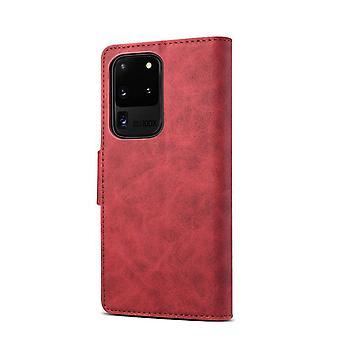 Slot per carte custodia in pelle portafoglio per iphonex/xs5.8 rosso pc2345