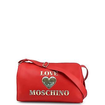 Love Moschino - Bags - Shoulder Bags - JC4039PP1BLE-0500 - Women - red,gold