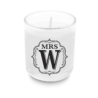 Heart & Home Aakkoset Votive Candle - Rouva W