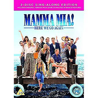 Mamma Mia: Here We Go Again! 2 ÉDITION DISQUE DVD
