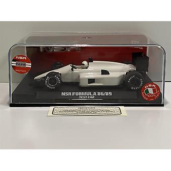 NSR 0118IL F1 Fórmula 86/89 Blanco Test Car King 21 EVO3