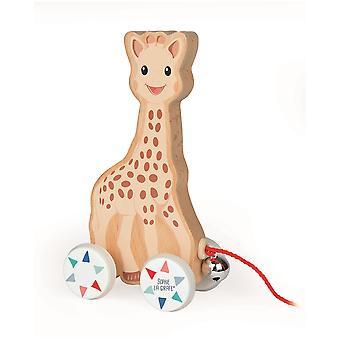 Janod Sophie La Girafe tire a lo largo de juguete