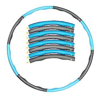 7 عقدة الأزرق والرمادي للانفصال مرجح هولا هوب البطن ممارس اللياقة البدنية الأساسية قوة حولا هوب az1452