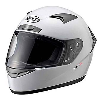 ヘルメット スパルコ クラブ X-1 ホワイト (XS)