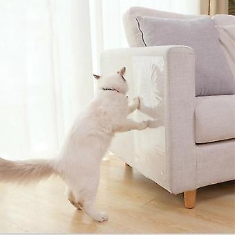 2 pc Cat Anti scratch Zabawki Sofa / drzwi / podłogi Scratch Prevention Guard może być używany wielokrotnie (45 * 30cm)