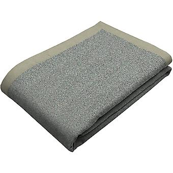 Mcalister textiles herringbone charcoal grey throw blanket