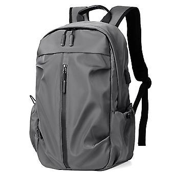 Mænds rygsæk fritid rejse enkel skoletaske computer taske