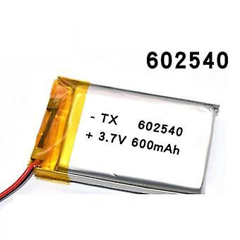 البوليمر 602530، بطارية ليثيوم 3.7v 600mah