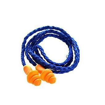 Pehmeä silikoni-johdollinen korvatulpat Korvasuoja uudelleenkäytettävä kuulonsuojain