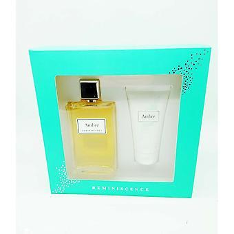 Parfymset för kvinnor Ambre Reminiscence (2 st)