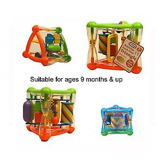 FunTime Multi Activity Teach Time Triangle Baby Activity Toy