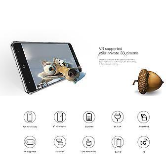 Doogee 6 cali duży ekran Quad Core Smartphone X7 dla Androida Dual Sim