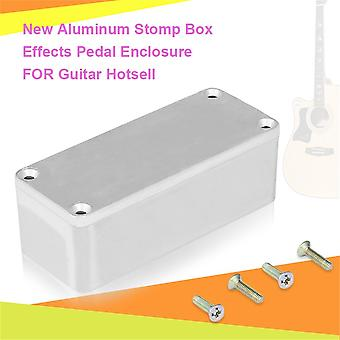 Портативный алюминиевый комплект музыкальных инструментов кабель Stomp Box Эффекты Педаль