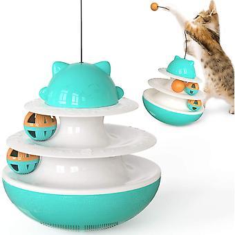 Pet Toy Cat Toy Tumbler háromrétegű Spinning Ball Orbital Ball Játék