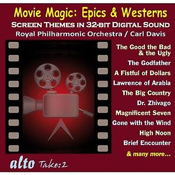 Royal Philharmonic Orchestra - Movie Magic: Importación de epopeyas y Westerns [CD] USA