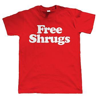 Kostenlose Achselzucken Herren lustige Slogan T Shirt, Geschenk für ihn Papa Geburtstag