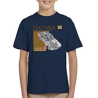 Camiseta de Haynes propietarios 0375 Manual de taller Ford Capri II V6 del cabrito