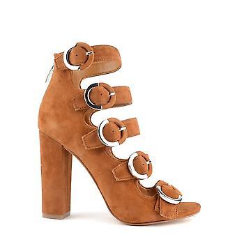 Kendall & Kylie Evie Cognac Strappy Peep Toe Sandal
