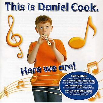 Daniel Cook - Here We Are! [CD] USA import