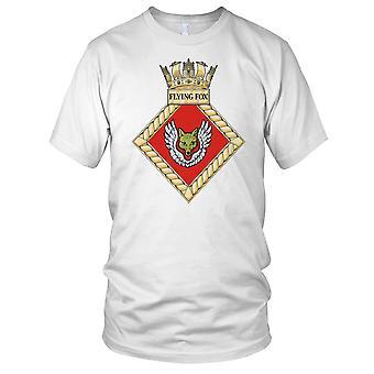 Royal Navy HMS Flying Fox Mens T Shirt