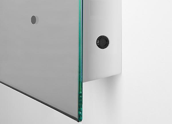 Ambient Ultra-Slim LED Bathroom Mirror With Demister Pad & Sensor K10G