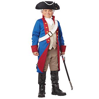 American Patriot Paul Revere Revolution Civil War Olden Colonial Boys Costume
